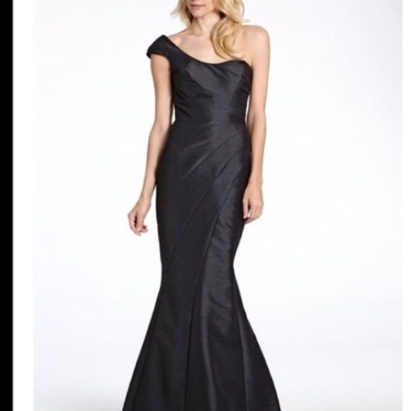 Black Taffeta Dress